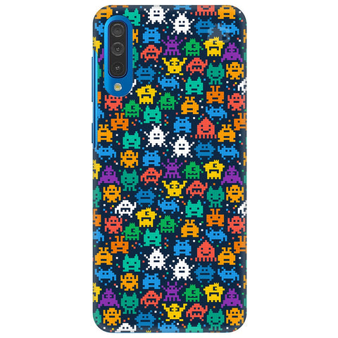 16 Bit Pattern Samsung Galaxy A70 Cover