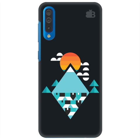 Abstract Mountains Samsung Galaxy A70 Cover