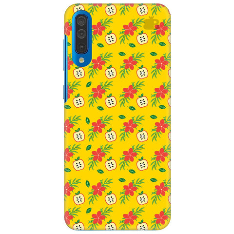 Apples & Flowers Samsung Galaxy A70 Cover