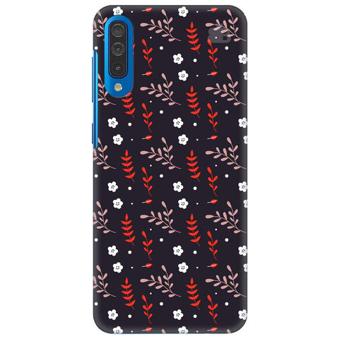 Autumn Floral Pattern Samsung Galaxy A70 Cover