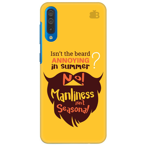 Beard Brown Samsung Galaxy A70 Cover
