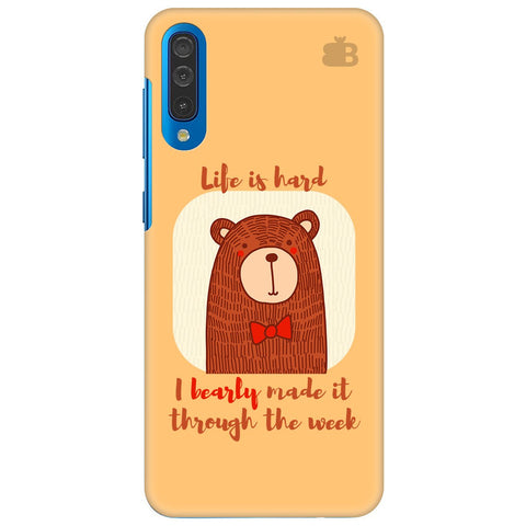 Bearly Made It Samsung Galaxy A70 Cover