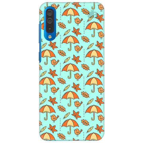 Birds & Umbrellas Samsung Galaxy A70 Cover