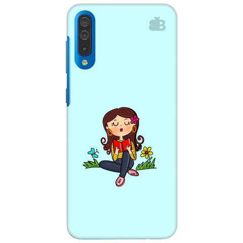 Books & Chill Samsung Galaxy A70 Cover