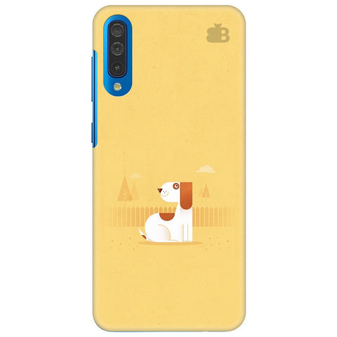 Calm Dog Samsung Galaxy A70 Cover