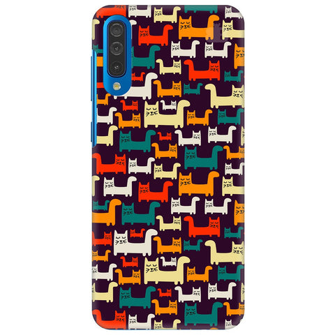 Chill Cats Samsung Galaxy A70 Cover