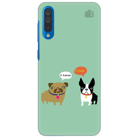 Cute Dog Buddies Samsung Galaxy A70 Cover