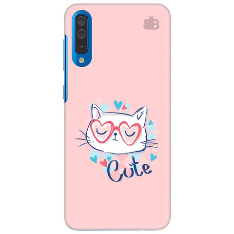Cute Sleepy Kity Samsung Galaxy A70 Cover