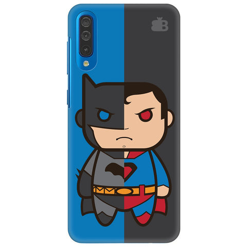 Cute Superheroes Annoyed Samsung Galaxy A70 Cover