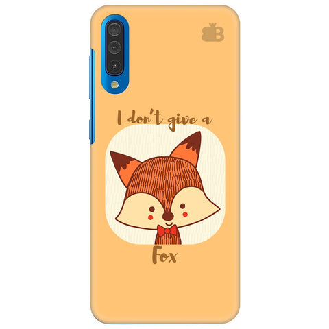 Dont Give A Fox Samsung Galaxy A70 Cover