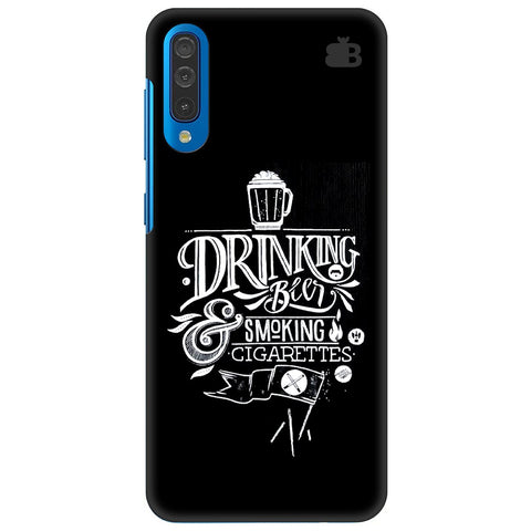 Drinking Beer Samsung Galaxy A70 Cover
