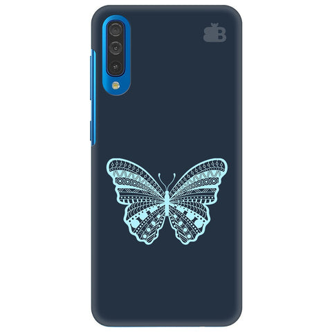 Ethnic Butterfly Art Samsung Galaxy A70 Cover