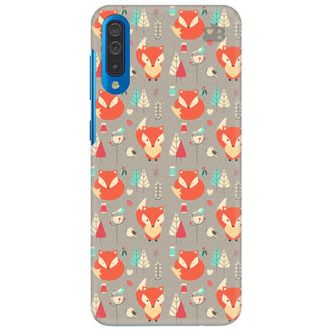 Foxy Pattern Samsung Galaxy A70 Cover