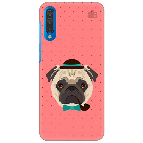 Gentleman Pug Samsung Galaxy A70 Cover