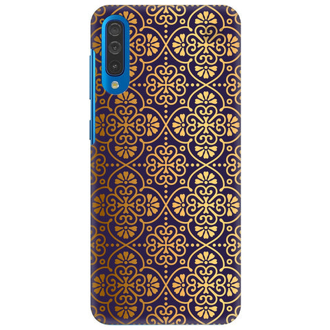 Gold Ornament Samsung Galaxy A70 Cover