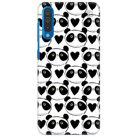 Happy Panda Pattern Samsung Galaxy A70 Cover