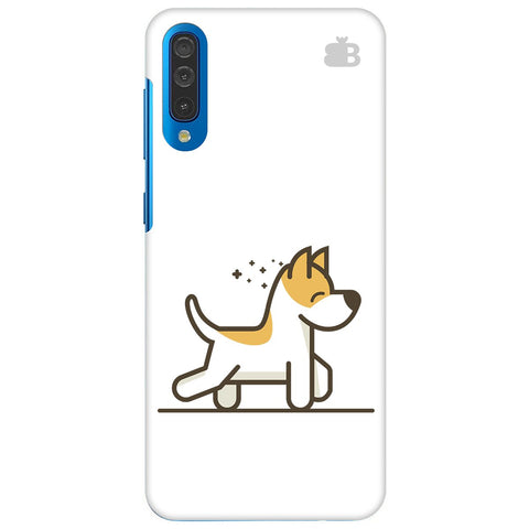Happy Puppy Samsung Galaxy A70 Cover