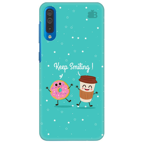Keep Smiling Samsung Galaxy A70 Cover