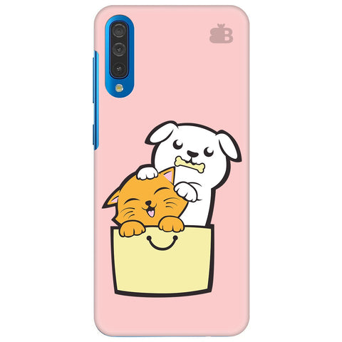 Kitty Puppy Buddies Samsung Galaxy A70 Cover