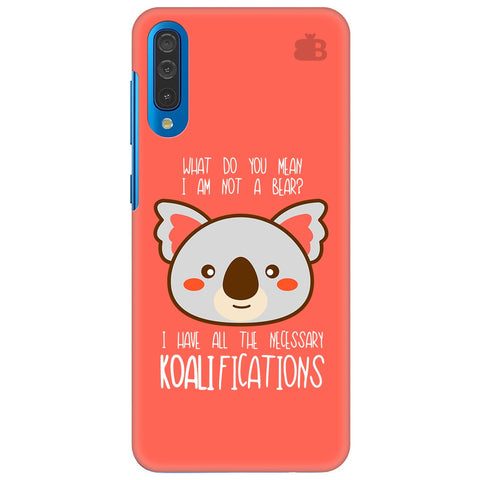 Koalifications Samsung Galaxy A70 Cover