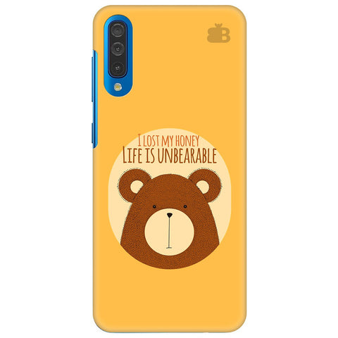 Life Is Unbearable Samsung Galaxy A70 Cover