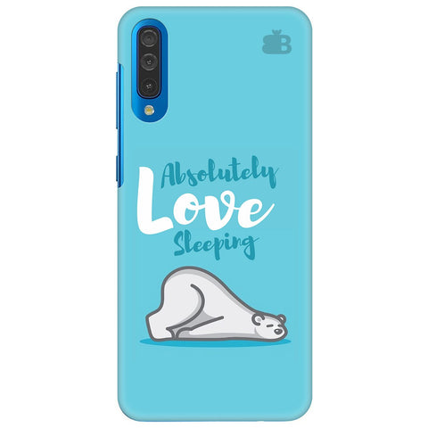 Love Sleeping Samsung Galaxy A70 Cover