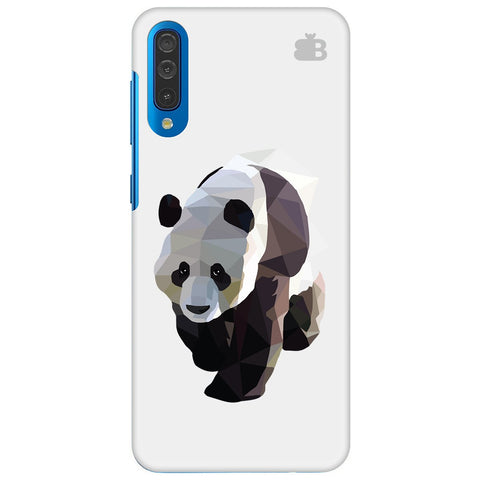 Low Poly Panda Samsung Galaxy A70 Cover