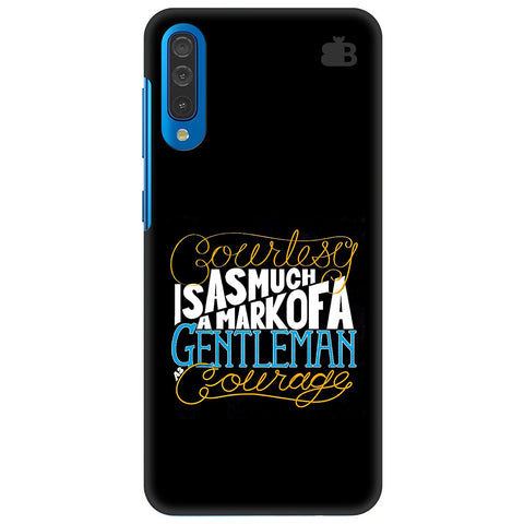 Mark Of Gentleman Samsung Galaxy A70 Cover