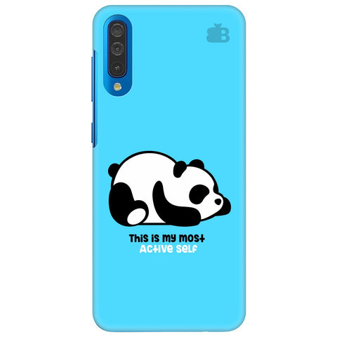 Most Active Panda Samsung Galaxy A70 Cover