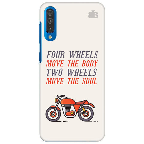 Motorcyclist Samsung Galaxy A70 Cover
