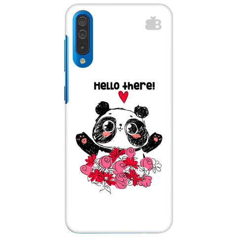 Panda Hello Samsung Galaxy A70 Cover