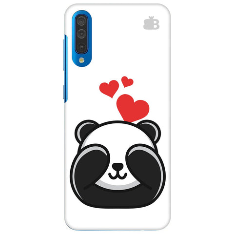 Panda In Love Samsung Galaxy A70 Cover