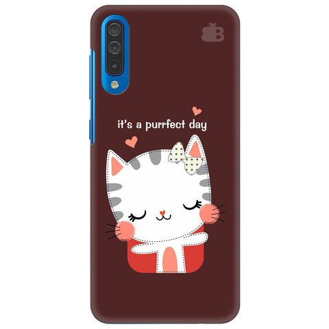 Purrfect Day Samsung Galaxy A70 Cover
