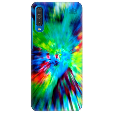Radial Tie & Die Samsung Galaxy A70 Cover