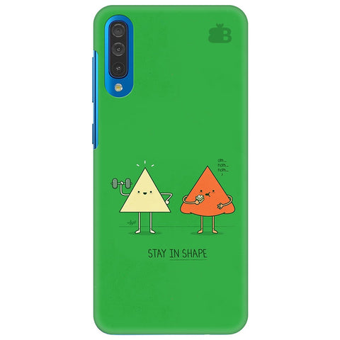 Stay In Shape Samsung Galaxy A70 Cover
