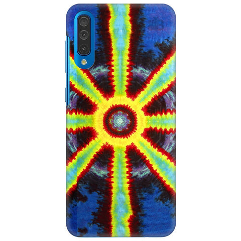 Tie & Die Pattern Samsung Galaxy A70 Cover