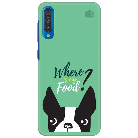 Where Is My Food Samsung Galaxy A70 Cover