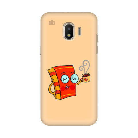 Coffee and Book Samsung Galaxy J2 2018 Cover