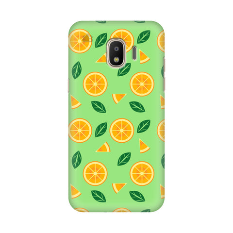 Oranges Samsung Galaxy J2 2018 Cover