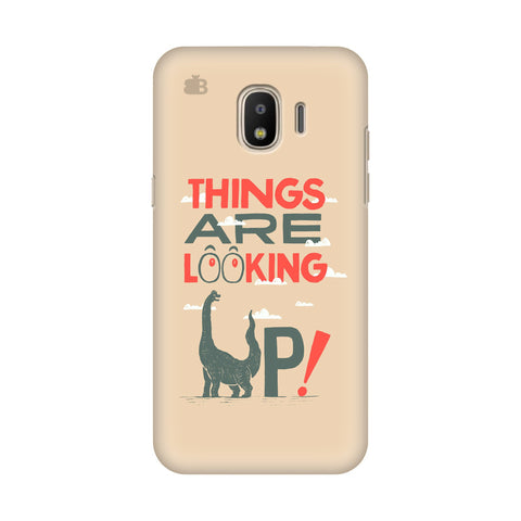Things are looking Up Samsung Galaxy J2 2018 Cover