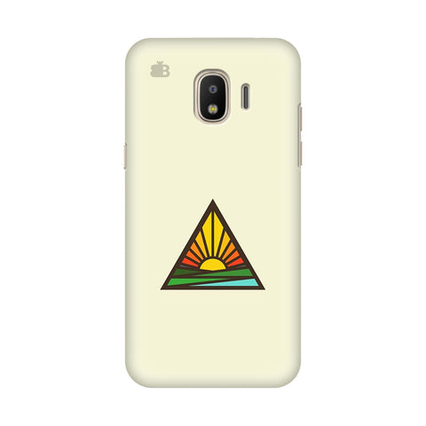 Triangular Sun Samsung Galaxy J2 2018 Cover