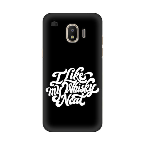 Whiskey Neat Samsung Galaxy J2 2018 Cover