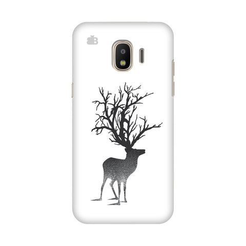 Abstract Deer Samsung Galaxy J4 Plus Cover