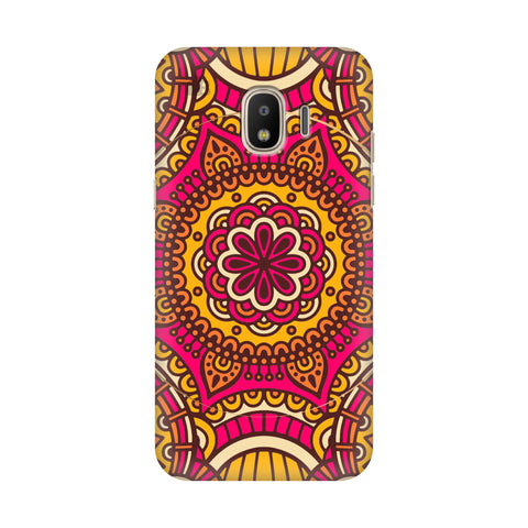 Colorful Ethnic Art Samsung Galaxy J4 Plus Cover