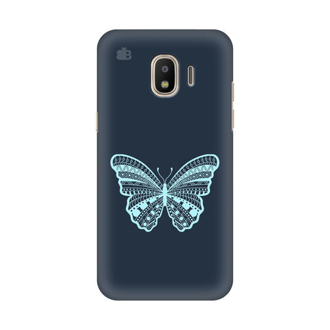 Ethnic Butterfly Art Samsung Galaxy J4 Plus Cover