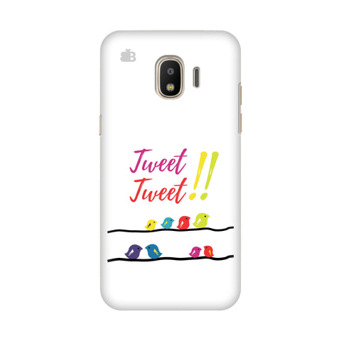 Tweet Tweet Samsung Galaxy J4 Plus Cover