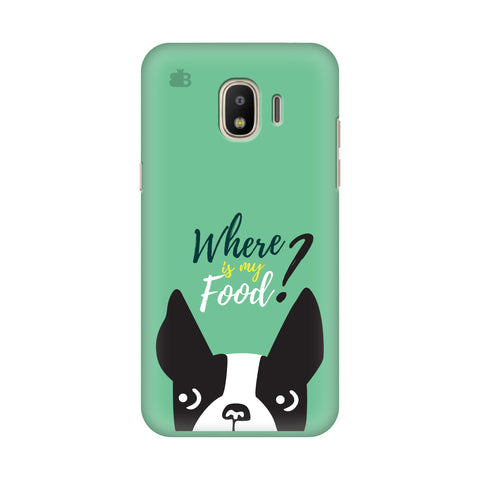 Where is my Food Samsung Galaxy J4 Plus Cover