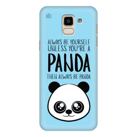 Always be panda Samsung Galaxy J6 Plus Cover