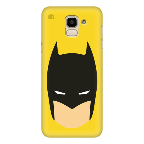 Angry Masked Superhero Samsung Galaxy J6 Plus Cover