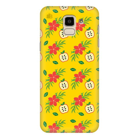 Apples & Flowers Samsung Galaxy J6 Plus Cover